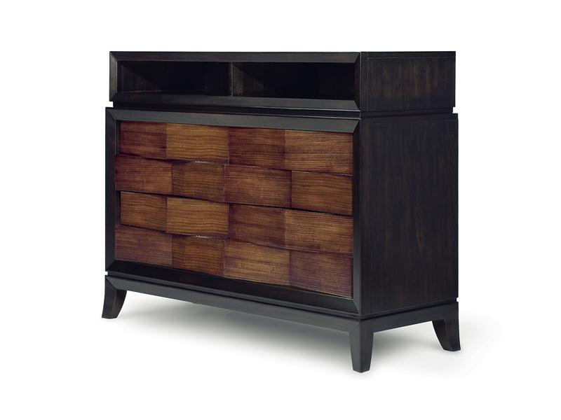 Urban safari wood media chest - magnussen b1356-36
