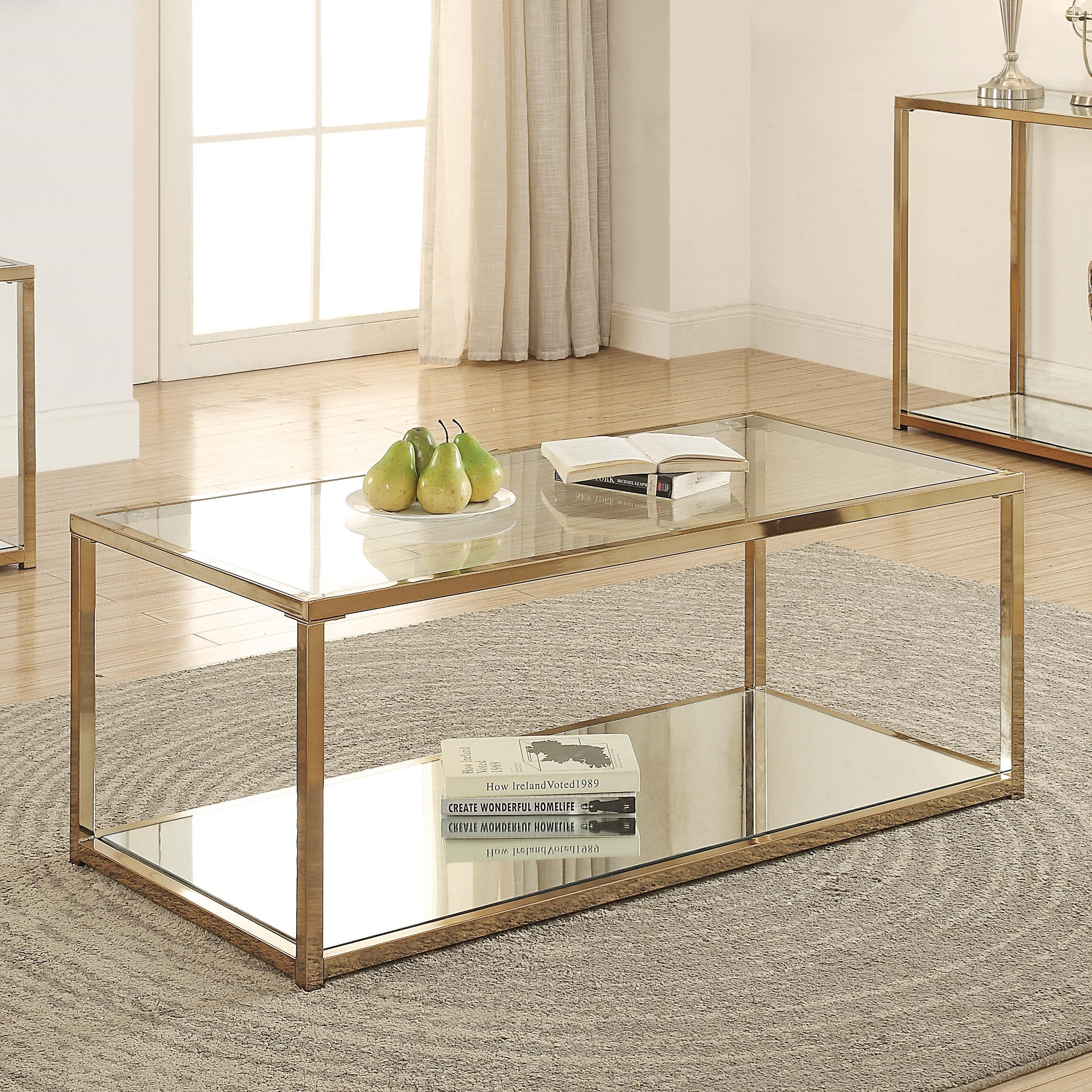 705238 calantha coffee table with mirror shelf