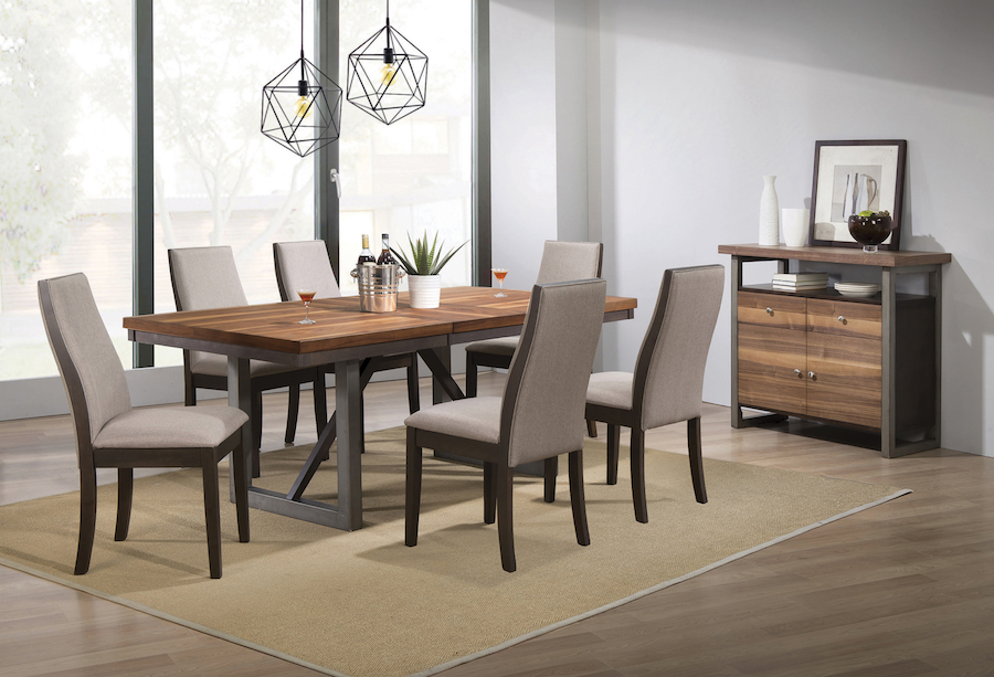 Spring creek 7 piece dining table