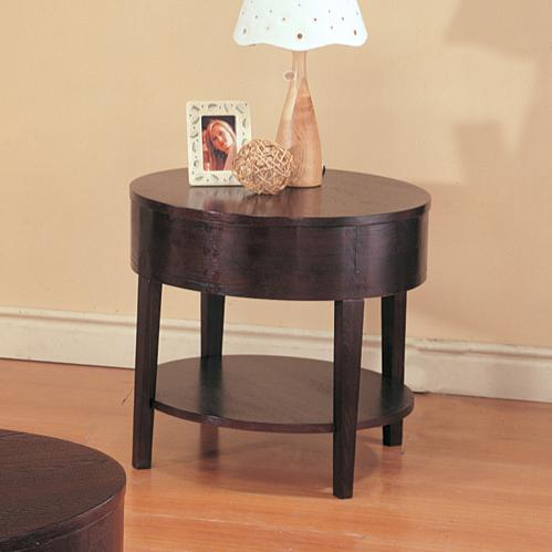 3940 gough round end table with shelf