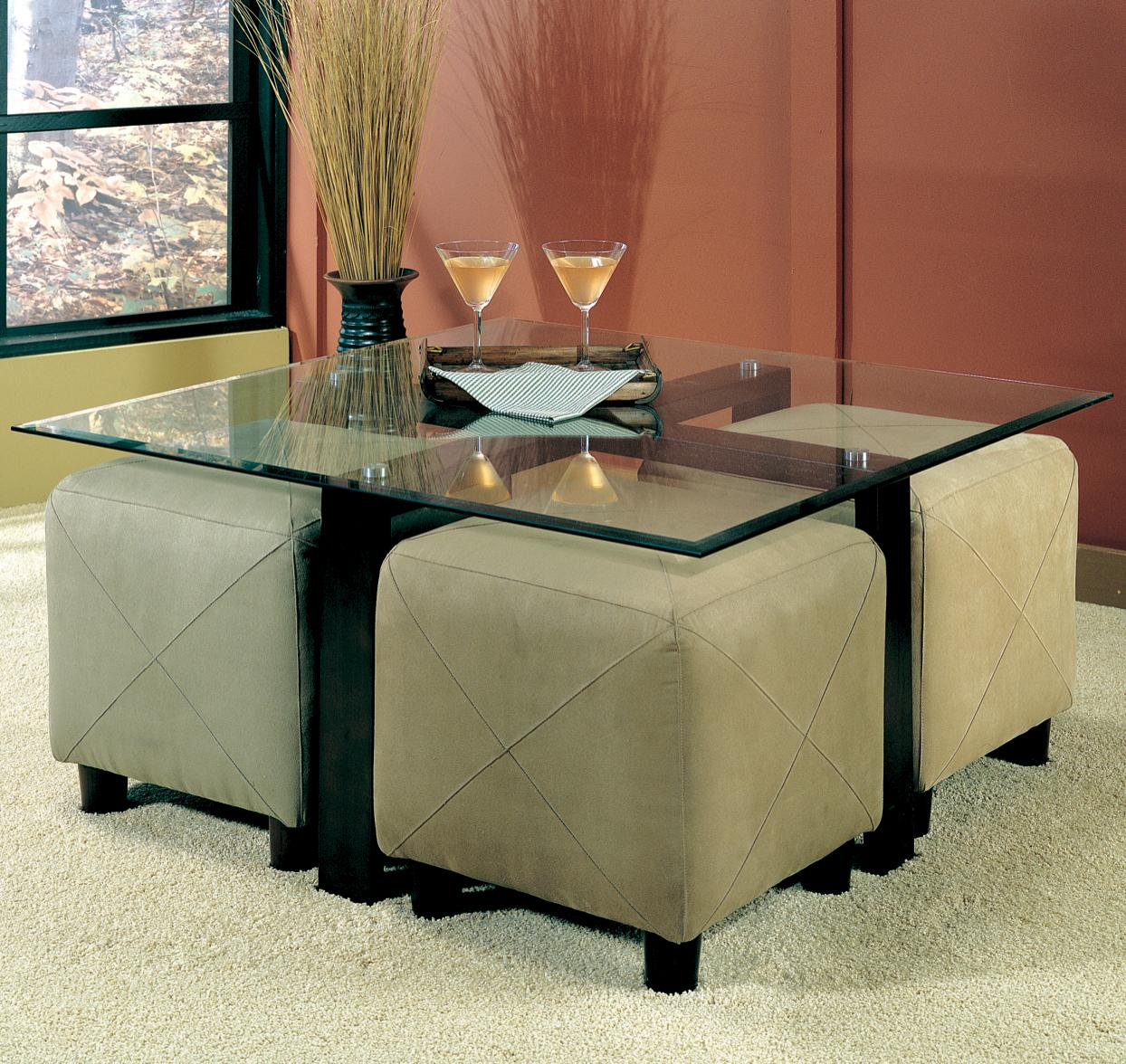 700026 cermak contemporary square metal cocktail table with glass top