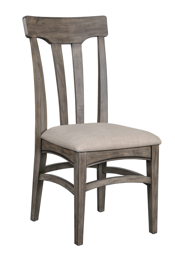 Walton dining chair with upholstered seat