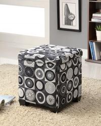 Square storage ottomans