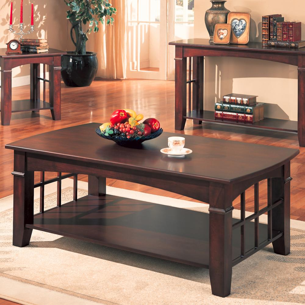 700008 abernathy rectangular coffee table with shelf